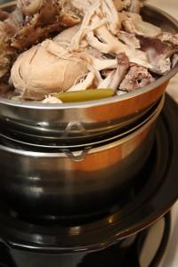 my straining tower (colander, sieve, storage bowl, ice bath)